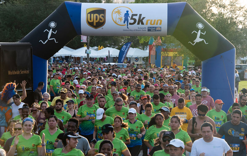 The UPS 5K | TeamFootWorks