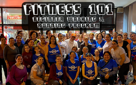 "Fitness 101 – ""Couch to Finish Line"" Beginner Training Program"