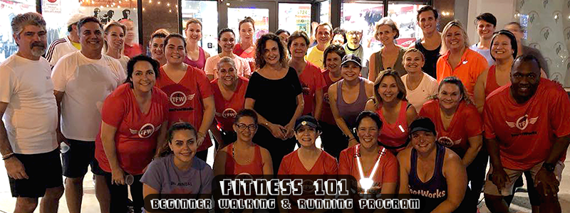 "Fitness 101 – ""Couch to Finish Line"" Beginner Training Program"