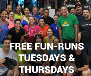 Fun Runs every Tuesday and Thursday