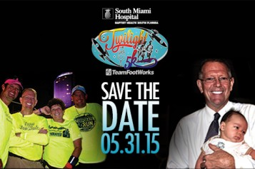 South Miami Hospital Twilight 5K in Memory of Papa Hans
