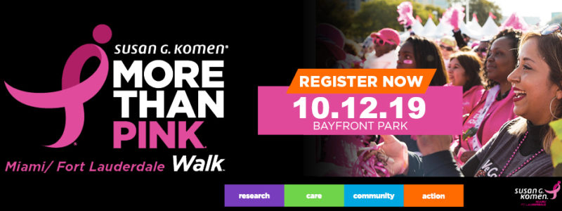 2019 Komen Miami/Ft. Lauderdale More than Pink Walk®