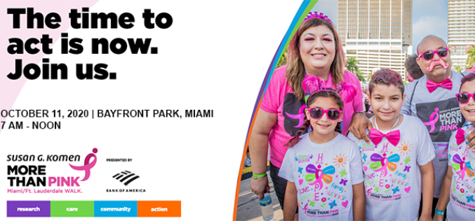 Komen Miami/Ft. Lauderdale More than Pink Walk®