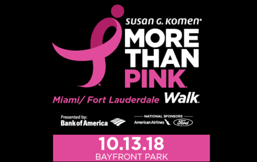 2018 Komen Miami/Ft. Lauderdale More than Pink Walk®