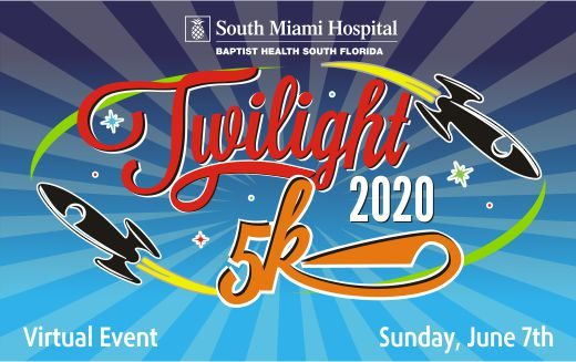South Miami Hospital Twilight 5K Virtual Run